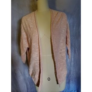 Old Navy Peach Gelato Knitted Open Cardigan